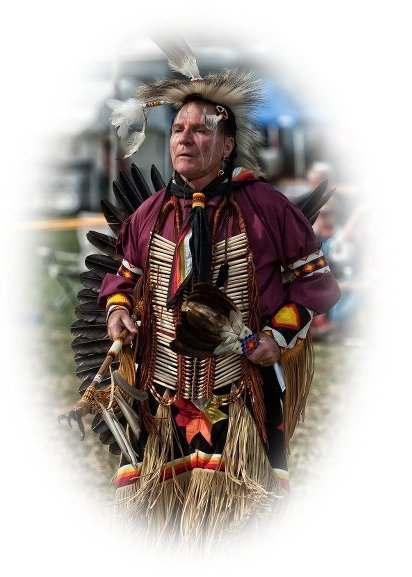 Picture of a Native American